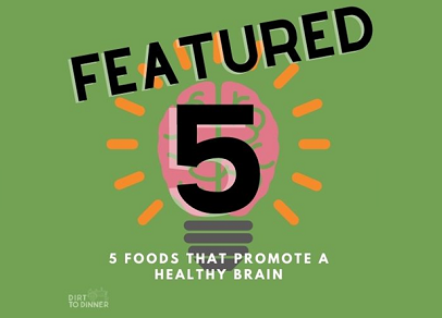 5 Foods to Promote A Healthy Brain